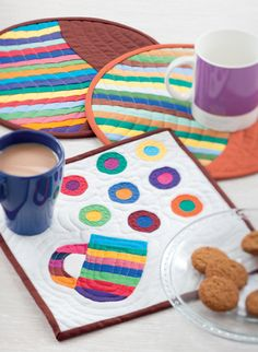 Must-Have Mug Rugs by Pippa Eccles Armbrester