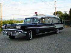 1958 Pontiac Super Chief Ambulance