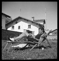 erika mann Photographer : Annemarie Schwarzenbach