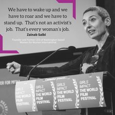 #DigitalMajlis #ZainabSalbi #WomenForWomen #womenforwomeninternational #Iraq #Author #WomensRightsActivist #Humanitarian #SocialEntrepreneur #quotes #quoteoftheday #quotesforlife #mindset