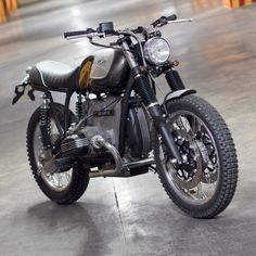 BMW Boxer custom by Officine Rossopuro   right front