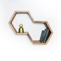 Dual Hexagon Shelf