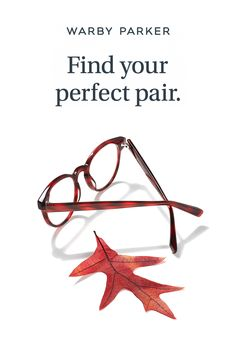 We introduced 7 new frames and 6 new colors in our Fall Collection. Find your perfect pair of glasses through our free Home Try-On program today!