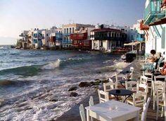 Travel to mykonos island, Cyclades, Greece Places To Travel, Places To Visit, Mykonos Greece, Going On Holiday, Greece Travel, Adventure Awaits, Dream Vacations, Seaside, Venice