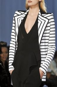 Givenchy black and white stripes