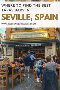 Looking for the best tapas in Seville? We spent our time in Seville eating all the tapas and I have some great recommendations! Here are 7 of the must-visit tapas bars in Seville, both traditional and modern. Malaga, Bilbao, Merida, Best Tapas, Spain Culture, Valencia, Spain Travel, Croatia Travel, Hawaii Travel