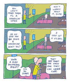 Douchebag parking