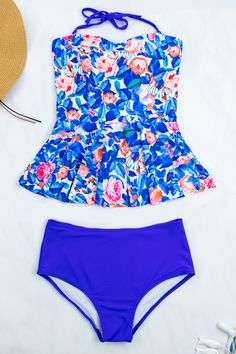 1ba248d9bf Two Piece Swimwear · @beachsissi You can't buy happiness, but you can go to  beach,