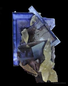 FLUORITE - Ross Lillie Collection of Illinois Minerals