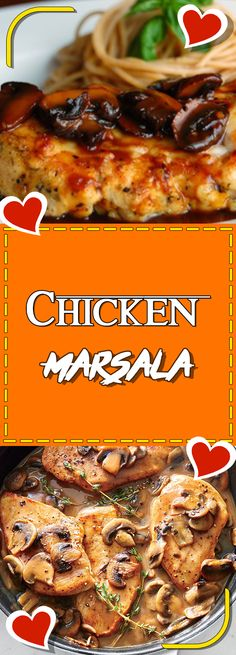 Chicken Marsala #chickencasserole chicken casserole recipes #cookinglight cooking light recipes #recipe recipe #chickendinner chicken dinner recipes #chickensalad chicken salad recipe #chicken chicken