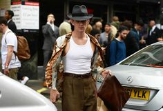 It's that time of year again when the most dapper and stylish men emerge for the menswear shows. First up: London town . . .