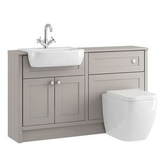Find Shades Bathroom Vanity Unit & Toilet Package - Breeze Shaker at Homebase. Visit your local store for the widest range of bathrooms & plumbing products. Bathroom Design Small, Bathroom Interior Design, Modern Bathroom, Master Bathroom, Downstairs Bathroom, Bathroom Vanity Units Uk, Bathroom Vanities, Toilet Vanity Unit, Toilet Sink
