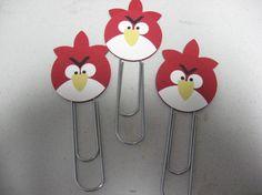 Angry Bird Paper clips Tammy Borrello
