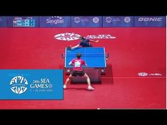 Table Tennis Women's Singles Round Robin Singapore vs Thailand | 28th SE...
