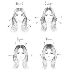 How to enhance your face shape using your hair Hair magazine – Hair Models-Hair Styles Rectangle Face Shape, Diamond Face Shape, Diamond Shaped Faces, Square Face Hairstyles, Face Shape Hairstyles, Heart Shaped Face Hairstyles, Hair Heart Shaped Face, Hair Shaped Around Face, Hairstyles For Rectangular Faces