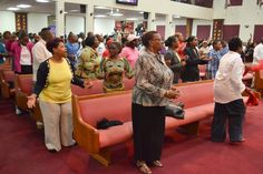 Our 12AM service was rocking. God got the Glory he deserved Wednesday.