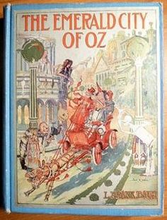 Emerald City of Oz by L.Frank Baum (c.1910) Color plates position for 1st edition, 1st state copy (1-indicates opposite of the title page and also given page). 1910 - The Emerald City of Oz - 16 plates (1, 24, 54, 74, 108, 116, 136, 166, 186, 222, 232, 240, 258, 264, 282, 292). Reilly & Britton
