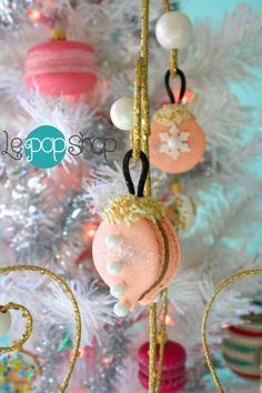 Le Pop, Macaron Cake, Pink Christmas, Macaroons, Spring 2014, Pastel Pink, Cake Pops, Sweet Treats, Retail