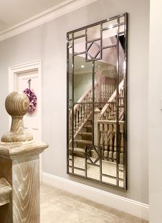 Large Tall Interior Window Mirror From The Aldgate Home Collection