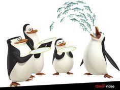 """Mais engraçado do que um episódio de """"Pinguins de Madagascar"""", só vários episódios juntos! Alugue e divirta-se."""