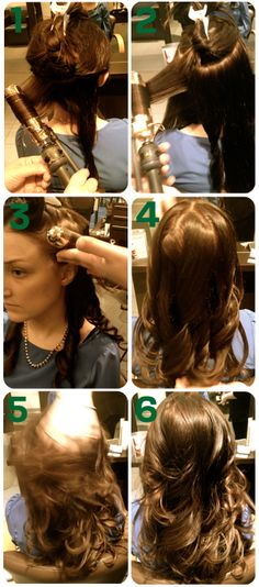 How to curl your hair like the pros. Im obsessed with hair right now, but im pretty sure I haven't done my hair once in almost a year