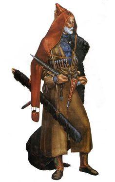 Caucasus, costume, warriors, ethnic