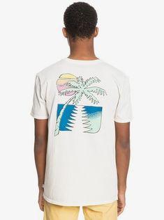 quiksilver, Island Pulse Organic T-Shirt, SNOW WHITE (wbk0)