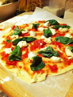Pizza Margherita | Foodie: Your Recipes. Your way.