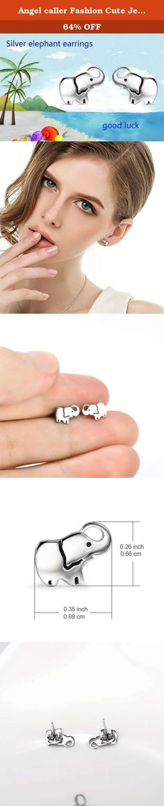 Angel caller Fashion Cute Jewelry 925 Sterling Silver Lucky Elephant Stud Earrings for Women Girls. UNIQUE CUTE LOVELY ELEPHANT STUD EARRINGS IS A GOOD CHOICE AS A GIFT IN ALL DEPARTMENT OR KINDS FESTIVALS. Company Product: Our company was founded in 2006,we have more than 100 branch offices nationwide and more than 2000 employees so far,there are kinds of jewelry,welcome to retail sale and wholesale. Guarantee: we sell the high quality and low price items,100% new style.and 100% 925...