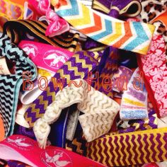 ***SALE*** 4/9 & 4/10 ONLY ALL Print Hair Ties...$1/each Lots of prints to choose from. https://www.facebook.com/BowHeadBoutique