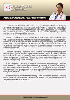 Neurology Residency Personal Statement Writing Pathology Residency Personal Statements