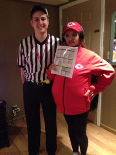 this girls andy reid halloween costume is perfect