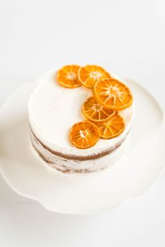 Blood Orange Cake