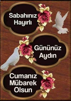 Sabahınız hayırlı, Gününüz aydın, Cumanız mübarek olsun..🐞 Friday Messages, Allah, 18th, Allah Islam
