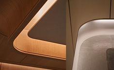 Interior Ceiling Design, Ceiling Light Design, False Ceiling Design, Modern Ceiling, Interior Lighting, Modern Interior Design, Interior Architecture, Ceiling Lights, Ceiling Ideas