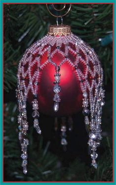 Sparkling Ornament Cover, Sova Enterprises