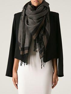 FENDI - chevronne pequin scarf, perfect colors
