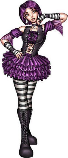 Violet girly