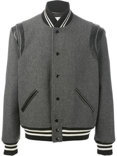 Shop Saint Laurent 'Teddy' jacket in Mantovani from the world's best independent boutiques at farfetch.com. Over 1000 designers from 60 boutiques in one website.