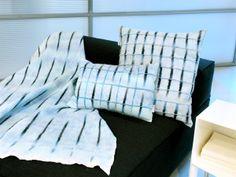 "Collection ""stripe"" aqua at Cilo, interior design shop in Zutphen, Holland"