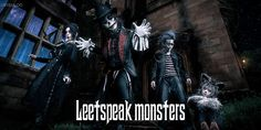 Leetspeak monsters「Storyteller in the Strange Night」 Goth Music, Visual Kei, Interview, Bands, Darth Vader, Artist, Fictional Characters, Band, Artists