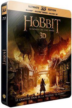 Le hobbit, la bataille des cinq armées en blu-ray métal édition limitée