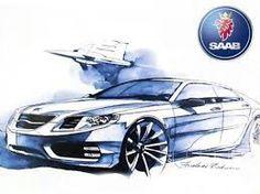 SAAB Concept Car Design.