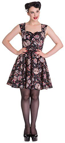 Hell Bunny Idaho Dress XS Black * Check out this great product.
