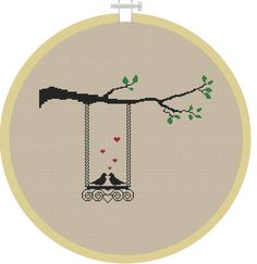 Birds Cross Stitch Pattern Cross Stitch от MagicCrossStitch, $4.00