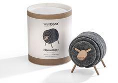 Untersetzer - Sheepad - ein Designerstück von WellDone_Dobre_Rzeczy bei DaWanda