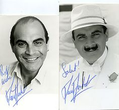 One of my absolute favourite characters in fiction, Hercule Poirot, always brilliantly played by the very talented, David Suchet.