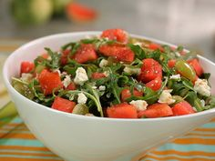 Try this recipe for Cool Watermelon Salad from Kimberly's Simply Southern featured on GAC!
