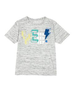 Cotton Rich Yes Slogan Graphic T-Shirt (1-7 Years) | M&S