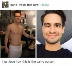 For everything Panic At The Disco check out Iomoio Emo Band Memes, Emo Bands, Music Bands, Brendon Urie Memes, Hetalia, Panic! At The Disco, I Love Music, Pop Punk, Thing 1